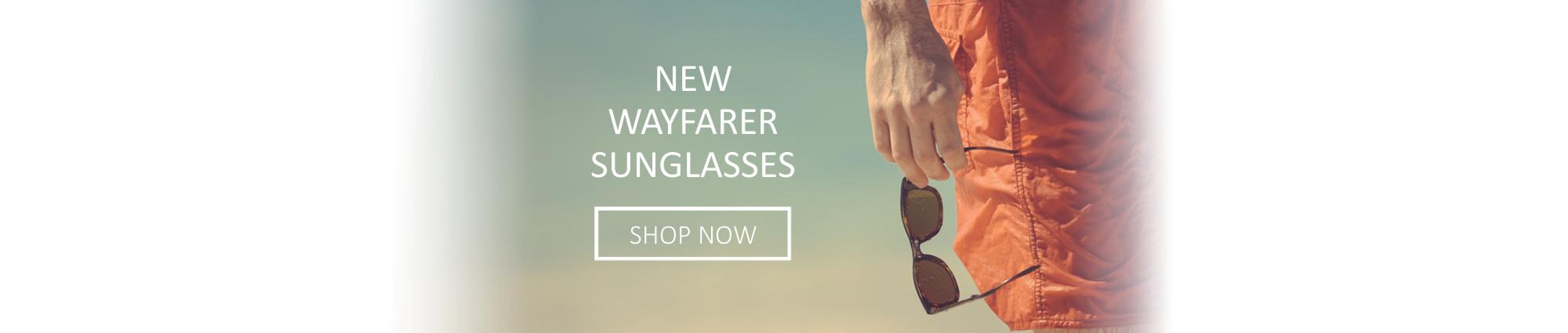 Epic Brand New Wayfarer Style Sunglasses